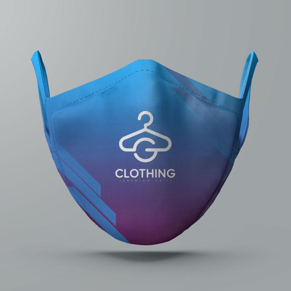 facemask logo template